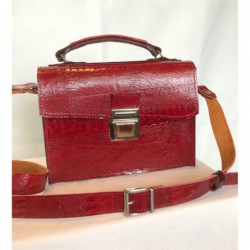Cartable Rouge, taille moyenne