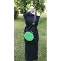 Sac P&P's Noir et Vert